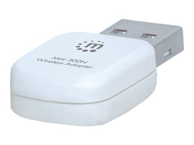 Manhattan 300N Wireless USB Adapter, 525527, 16203523, Network Adapters & NICs