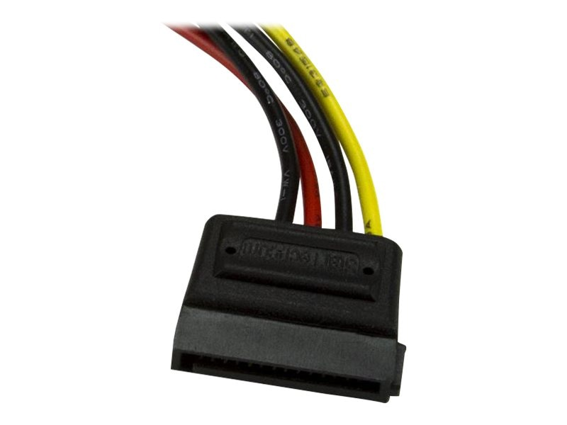 StarTech.com LP4 Male to SATA Power Adapter, 6 inch (SATAPOWADAP), SATAPOWADAP
