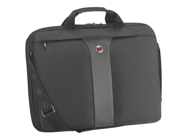 Wenger Wenger Legacy Laptop Sleeve, Fits 17 Screen, Gray, WA-7444-14F00, 10358153, Carrying Cases - Notebook