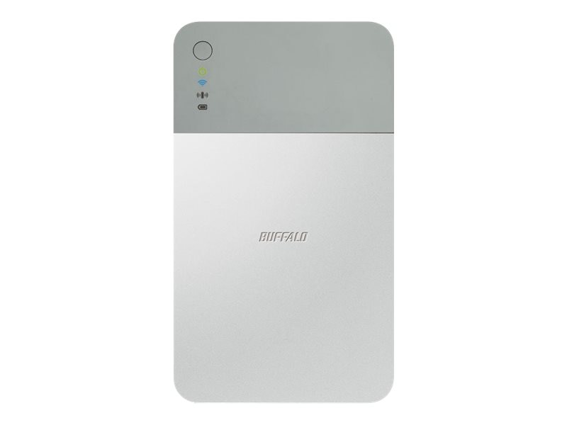 BUFFALO 1TB MiniStation Air Wireless Hard Drive, HDW-PD1.0U3, 17384477, Network Attached Storage