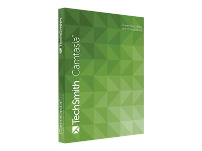 Techsmith Camtasia Studio 8.0 (Single User) for Windows on CD, CAMS01-8, 14477281, Software - Video Editing
