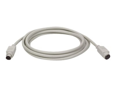 Tripp Lite PS 2 Keyboard Mouse Extension Cable, 6ft, P222-006, 196859, Cables