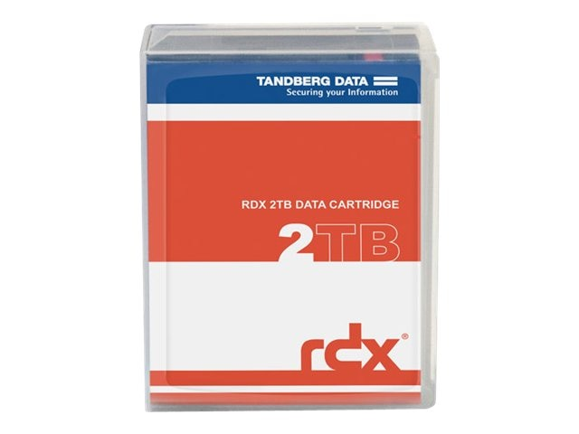 Tandberg Data 2TB RDX QuikStor Removable Disk Cartridge, 8731-RDX, 16525004, Removable Drive Cartridges & Accessories