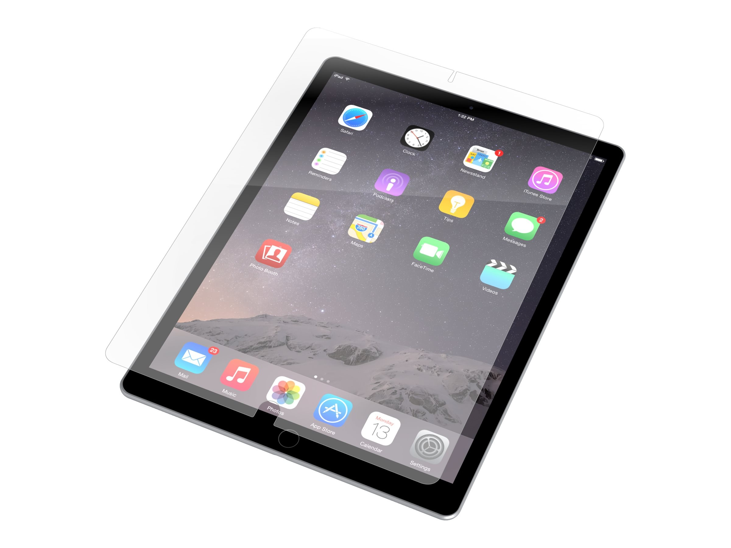 Zagg Invisibleshield Screen for iPad Pro, ID7OWS-P00