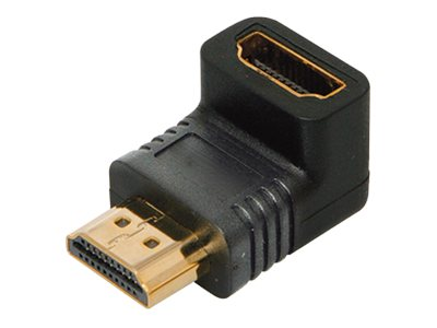 4Xem Right Angle HDMI M F Adapter, 4XHDMIMF90