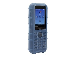Zcover Silicone Case w LP Belt Clip, Blue Dock-in-case for Cisco 8821 8821-EX, CI821HUL, 33181881, VoIP Phones