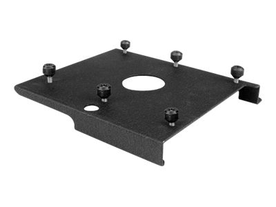 Chief Manufacturing Custom RPA Interface Bracket, Black, SLB034