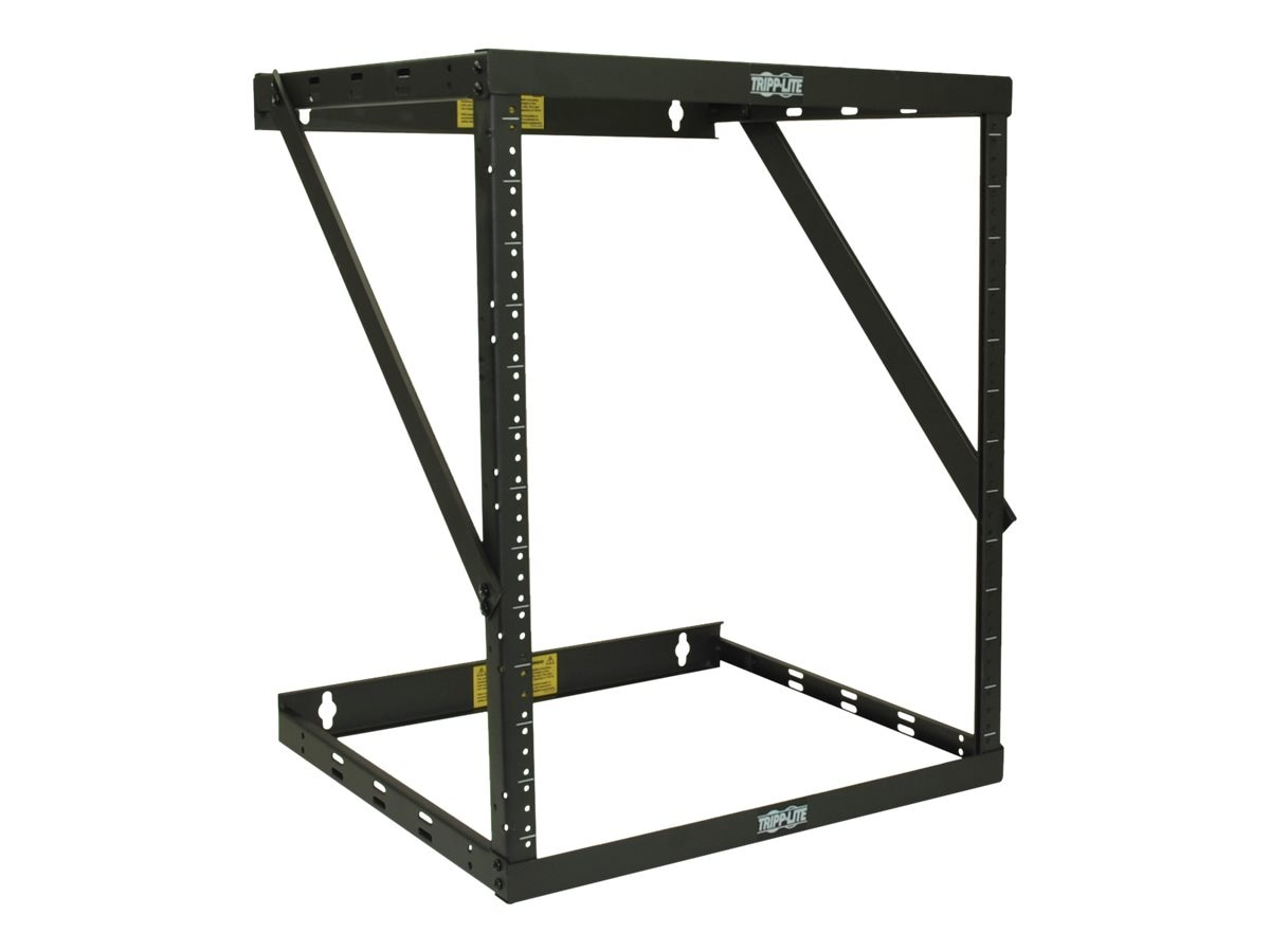 Tripp Lite SmartRack 8U 12U 22U Expandable Very Low-Profile Patch-Depth Wall-Mount 2-Post Open-Frame Rack