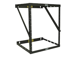 Tripp Lite SmartRack 8U 12U 22U Expandable Very Low-Profile Patch-Depth Wall-Mount 2-Post Open-Frame Rack, SRWO8U22MD, 30982551, Racks & Cabinets