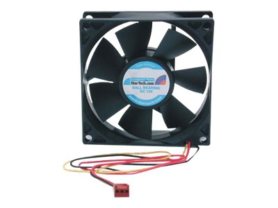StarTech.com 8cm Cooling Fan with Tachometer TX3 Connector