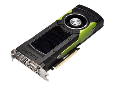 HPE NVIDIA Quadro M6000 PCIe 3.0 Graphics Card, 12GB GDDR5