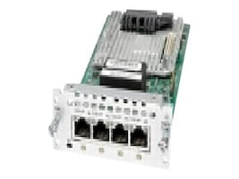 Cisco 4th Gen Multi-flex Trunk Voice Clear-channel Data T1 E1 Module, NIM-4MFT-T1/E1, 24057141, Network Voice Router Modules