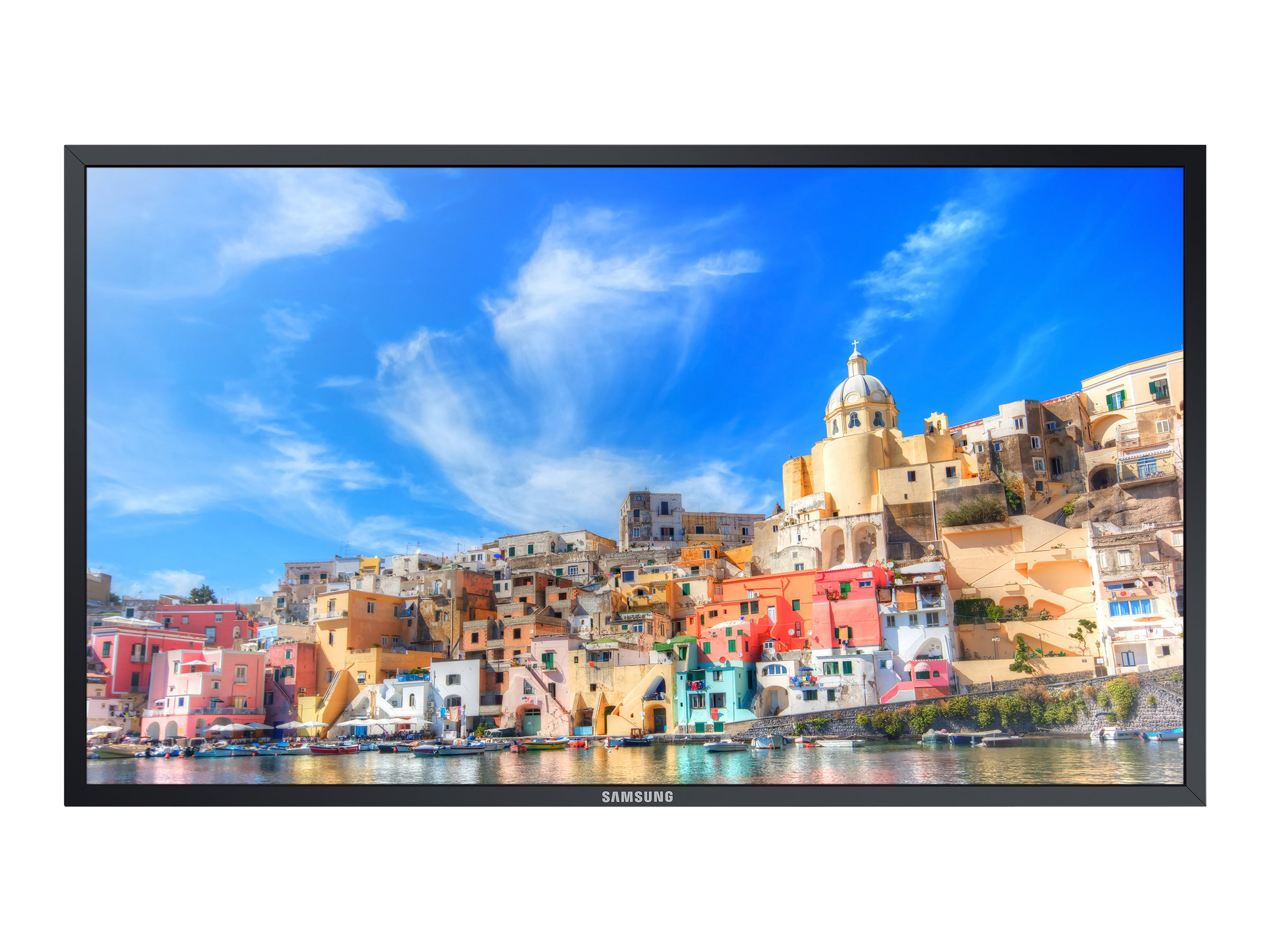 Samsung 85 QMD-BR Ultra HD LED-LCD Touchscreen Display, Black, QM85D-BR, 28346687, Monitors - Large-Format LED-LCD
