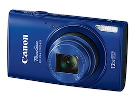 Canon PowerShot ELPH 170 IS Camera, 20MP, 12x Zoom, Blue, 0130C001, 18524291, Cameras - Digital - Point & Shoot