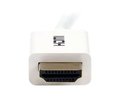 StarTech.com CL3 In-wall High Speed HDMI Cable, White, 10ft, HD3MM3MW