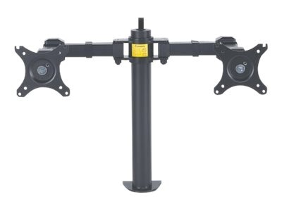 Manhattan LCD Monitor Mount with Double-Link Swing Arms for Displays up to 30