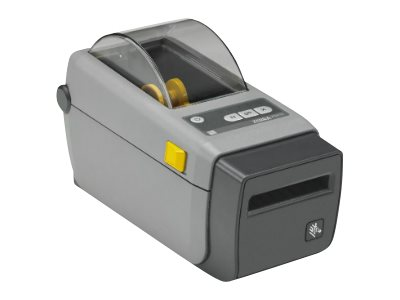 Zebra ZD410 DT 2 300dpi USB Host BTLE EZPL Printer w  US Cord