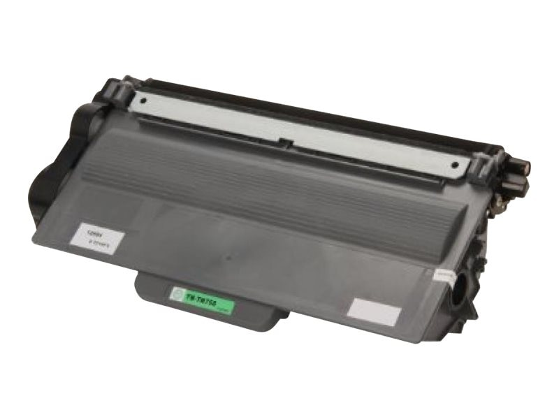 Ereplacements TN720 TN750 Black Toner Cartridge for Brother DCP-8110DN, DCP-8150DN, DCP-8155DN, HL-5450DN