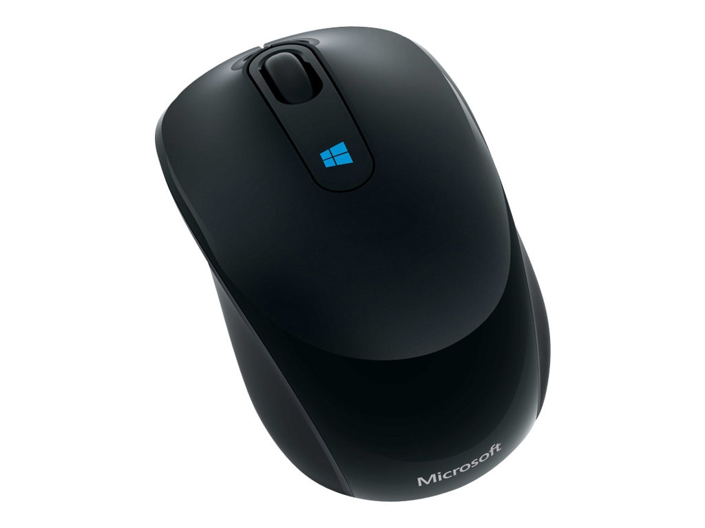 Microsoft Sculpt Wireless Mobile Mouse, Black, 43U-00001