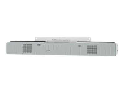 NEC Soundbar 90 Speaker For 90 Series Displays - White, SOUNDBAR90, 6725854, Speakers - Audio