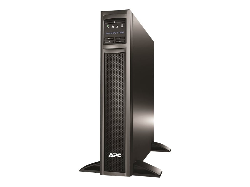 APC Smart-UPS X 1000VA 800W Rack Tower LCD 120V UPS (8) Outlets, SMX1000, 10334506, Battery Backup/UPS