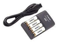 Canon CBK4-300 Battery and Charger Kit, 1169B001, 7770201, Battery Chargers