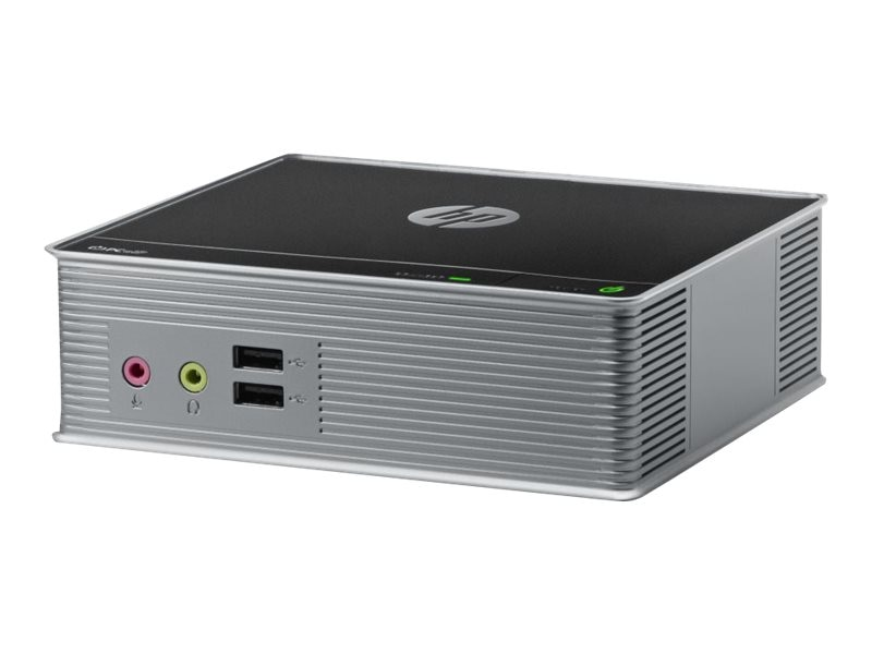 HP t310 Zero Client Tera 2321 512MB RAM 256MB Flash 100Mbps Fiber NIC PCoIP SmartZero, C3G79AT#ABA, 14851295, Thin Client Hardware