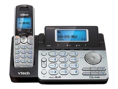Vtech 2-Line Expandable Cordless Phone with Digital Answering System and Caller ID, DS6151, 10881198, Telephones - Consumer