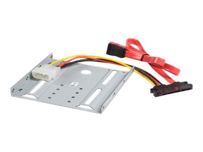 StarTech.com 2.5in SATA Hard Drive to 3.5in Drive Bay Mounting Kit, BRACKET25SAT, 8906851, Drive Mounting Hardware