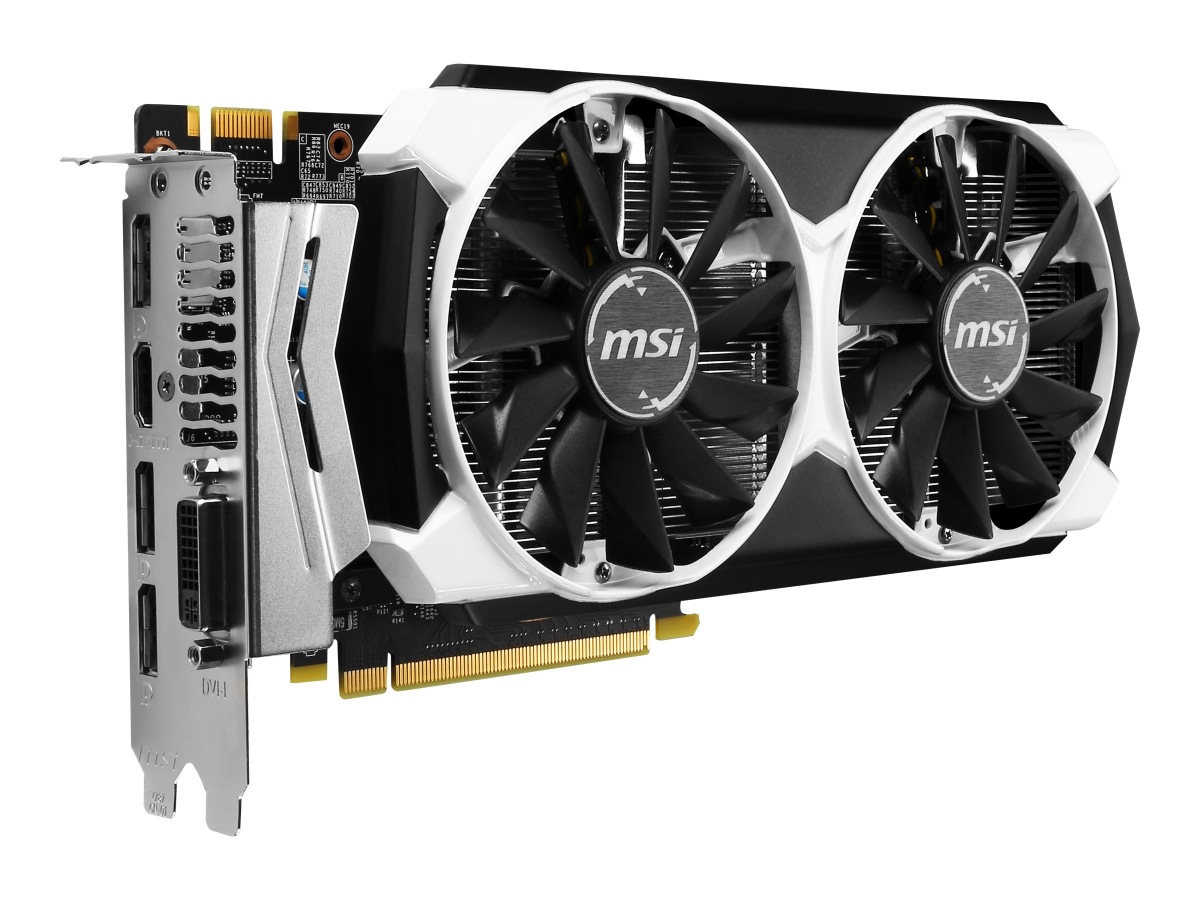 Microstar GeForce GTX 960 PCIe 3.0 Overclocked Graphics Card, 2GB GDDR5, GTX 960 2GD5T OC, 18363782, Graphics/Video Accelerators
