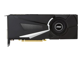 Microstar GeForce GTX 1080 PCIe 3.0 x16 Graphics Card, 8GB GDDR5X, GTX 1080 AERO 8G  OC, 32308237, Graphics/Video Accelerators