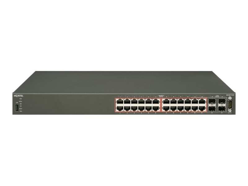 Avaya USTAA ERS4524GT PWR NO PC - LTW, AL4500A15-E6GS, 15670955, Network Switches