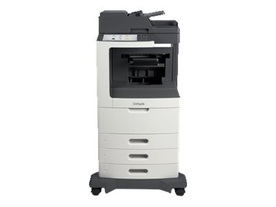 Lexmark MX810dtpe Monochrome Laser Multifunction Printer, 24T7413