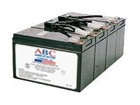 American Battery Replacement Battery Cartridge RBC8 for APC SU1400RM models, RBC8, 462086, Batteries - Other