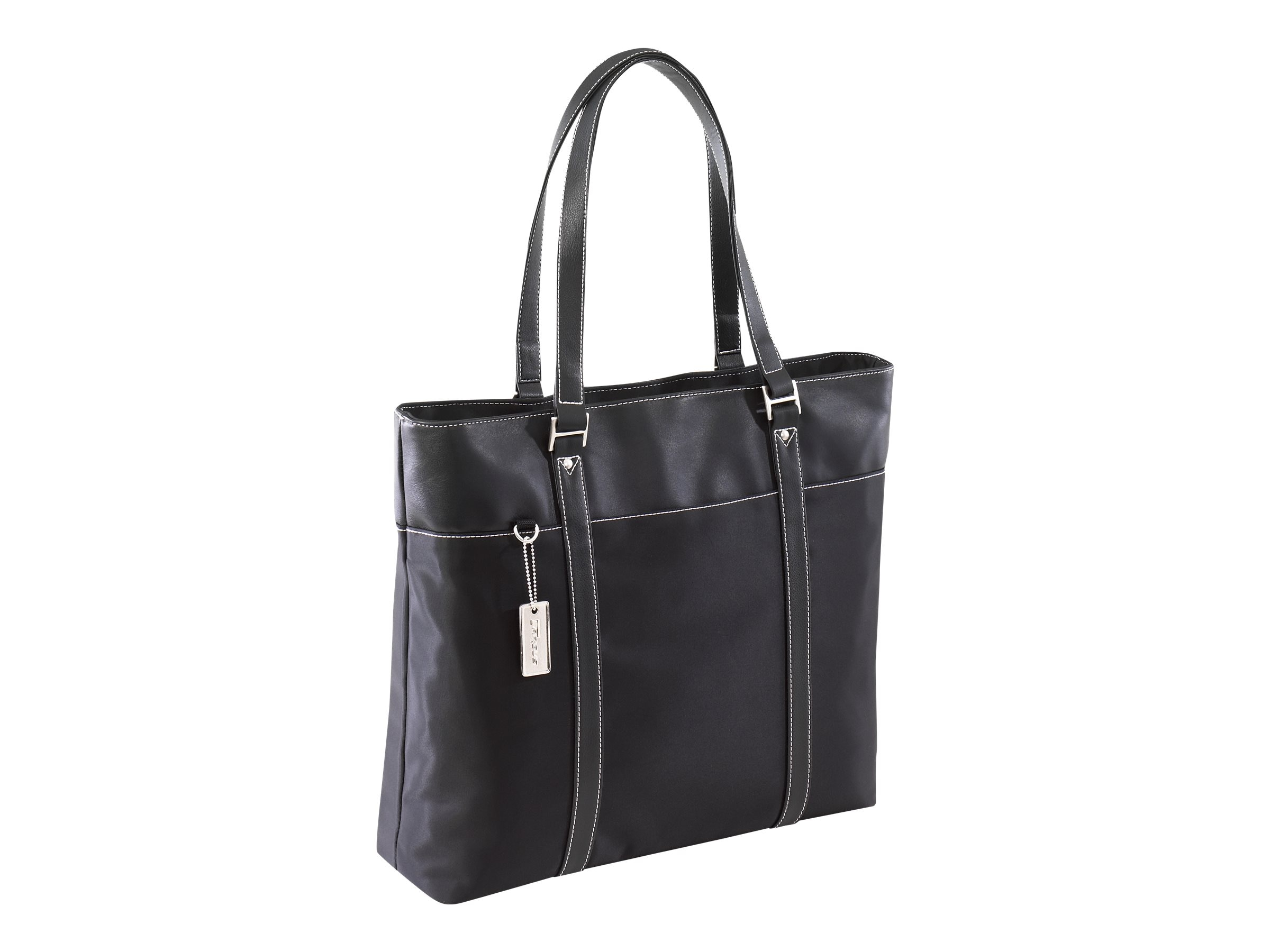 Targus 15.4 Ladies Deluxe Tote, with SafePORT Air Protection Cushioning, Black, TLT004A