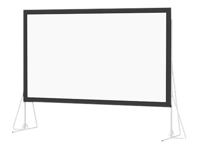 Da-Lite Heavy Duty Fast-Fold Deluxe Projection Screen, 16:9, 16' x 27'6, 99817, 18659891, Projector Screens