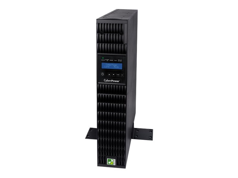 CyberPower Smart App 1500VA Online LCD 2U UPS, OL1500RTXL2U, 14709942, Battery Backup/UPS