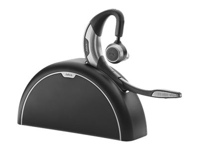 Jabra Motion UC Plus Bluetooth Headset with Travel Kit for Microsoft Lync, 6640-906-305, 15780871, Headsets (w/ microphone)