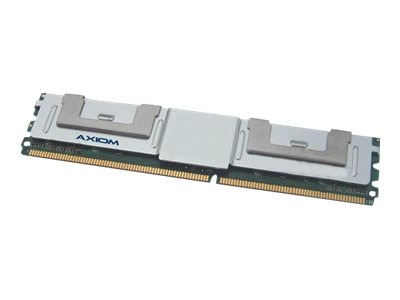Axiom 4GB PC2-5300 DDR2 SDRAM FBDIMM Kit, AX2667F5R/4GK, 14310368, Memory