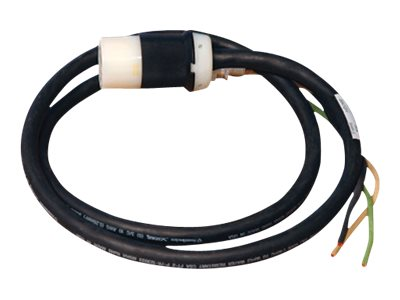 Tripp Lite 120V 1-Phase Whip, 5 ft Length with 3ft Removed Outer Jacket, HW Input, L5-20R Output Connector, SUWL520C-5, 11283501, Power Cords
