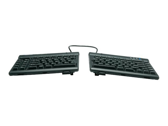 Kinesis Freestyle2 Keyboard for PC and V3 Accessory US Layout, KB830PB-US