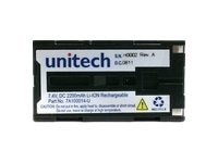 Unitech Battery, Lithium-Ion, 2200mAh, 7A100014, 8708062, Batteries - Other