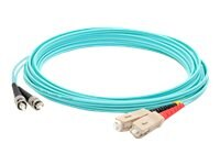ACP-EP ST-SC M M OM4 LOMM Patch Cable, Aqua, 30m, ADD-ST-SC-30M5OM4