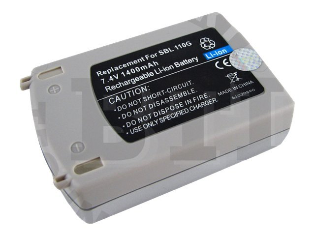BTI Battery, for Samsung SCD101, SCD103, SCD105, SCD107, SGSBL-110, 7926527, Batteries - Camera