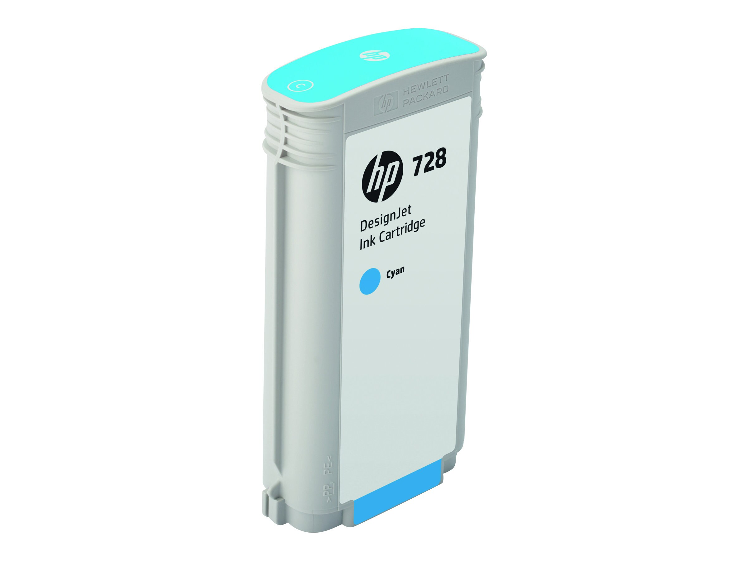 HP 728 (F9J67A) 130ml Cyan Designjet Ink Cartridge for HP DesignJet T730 & T830 Series