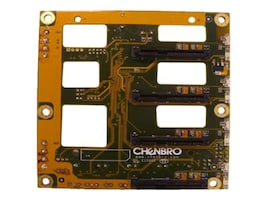 Chenbro 4-Port 3.5 6G SAS SATA Backplane, 80H10331405A0, 16106846, Motherboard Expansion