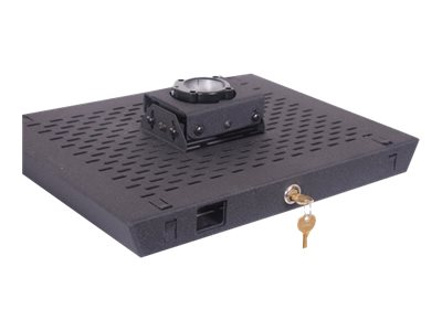 Chief Manufacturing RPA Projector Security Mount (Lock B), Black