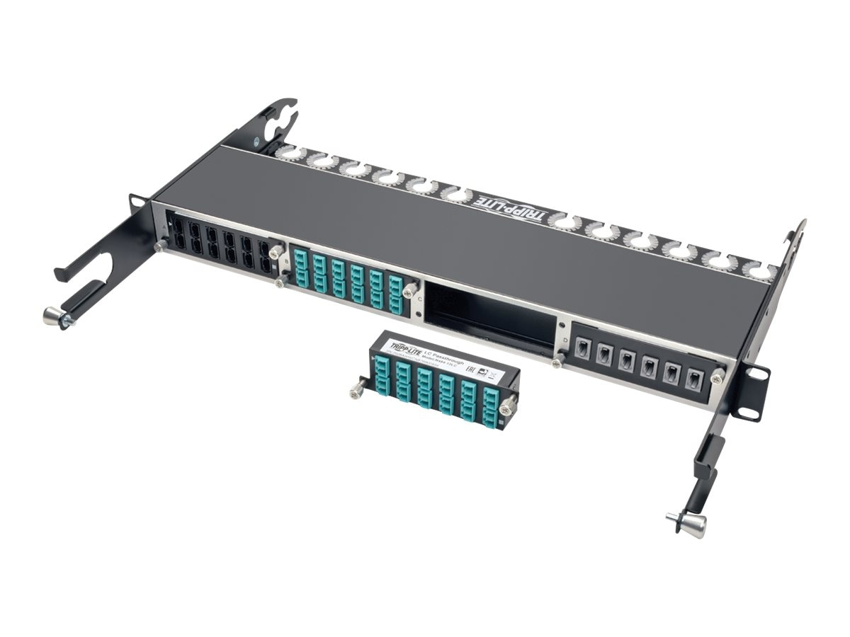 Tripp Lite 10GbE High Density Pass-Through Cassette 12 LC Duplex Connection