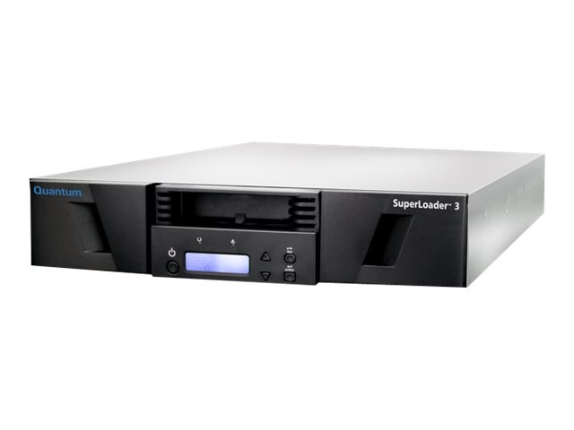 Quantum SuperLoader 3 Tape Library w  LTO-7 HH SAS 6Gb s Tape Drive & 8 Slots