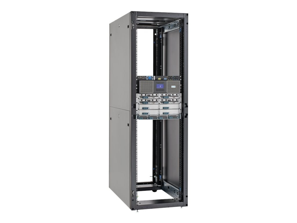 Eaton RS Server Enclosure 48U x 600mm x 1200mm, No Sides, Black, RSVNS4862B
